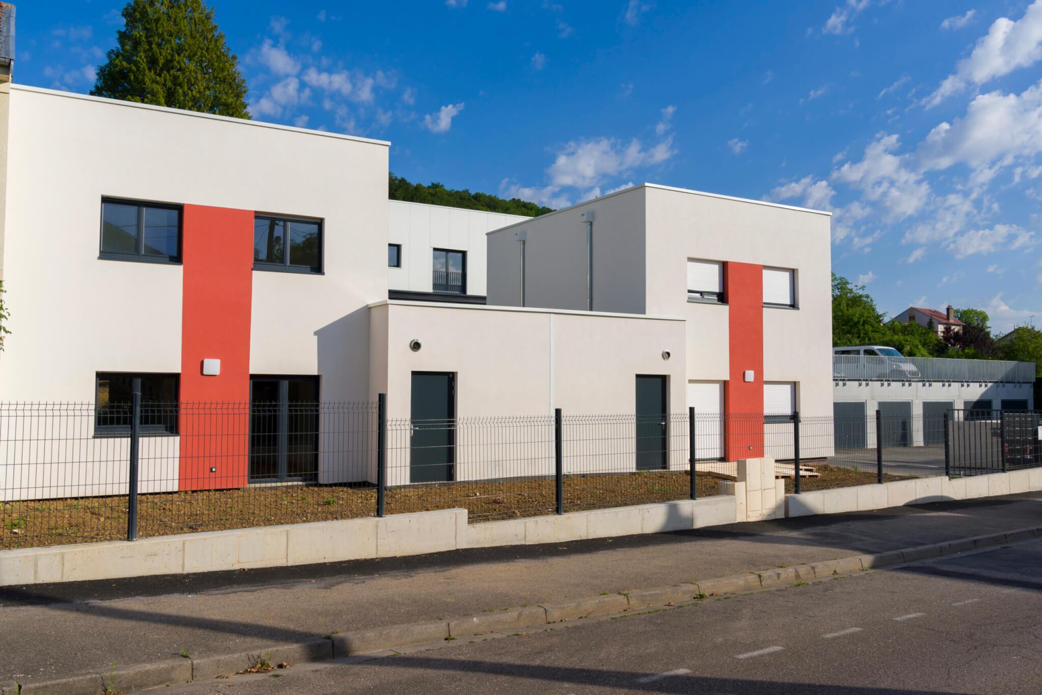 AAP_Logiest Pompey_façade arrière pavillons